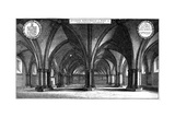 St Faith's Church in the Crypt of Old St Paul's Cathedral  London  1657