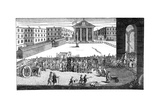 Rich's Glory: or His Triumphant Entry in Covent Garden  1732