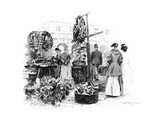 The Flower Market  1901