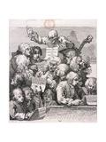 A Chorus of Singers  1732