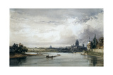 Paris Seen from Afar  C1835-1900