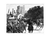 Arrival of Queen Victoria at Kelso  Scotland  1887