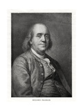 Benjamin Franklin  American Statesman  Printer and Scientist  20th Century