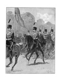 Review of the 1st Yeomanry Brigade by the Queen in Windsor Park  1894
