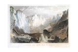 Carglaze Tin Mine  Near St Austell  Cornwall  England  C1825