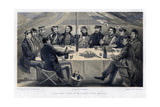 A Christmas Dinner on the Hights before Sebastopol  C1850