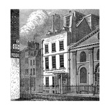 Isaac Newton's House  St Martin's Street  Leicester Square  London  C1850