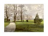 Kimbolton Castle  Huntingdonshire  Home of the Duke of Manchester  C1880