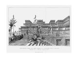 Reconstruction of the North-Eastern Façade of Sennacherib's Palace (Kouyunji)  Assyrian  1853