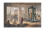 Telegraph Wire at the Greenwich Works  C1865