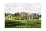 Leeds Castle, Kent, Home of the Wykeham-Martin Family, C1880 Giclée par Benjamin Fawcett
