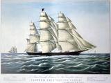 Clipper Ship Flying Cloud  1851-1907