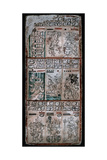 A Page from the Dresden Codex  Maya Manuscript  1901