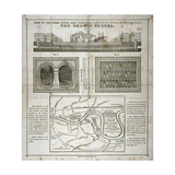 The Thames Tunnel  London  1827