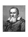 Galileo Galilei (1564-164), 1882 Giclée par Justus Sustermans