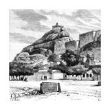 The Rock Fort Temple of Tiruchirapalli  India  1895