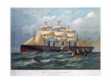 Pss 'Great Eastern on the Ocean  1858