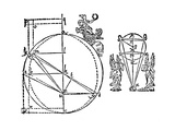 Kepler's Illustration to Explain His Discovery of the Elliptical Orbit of Mars  1609
