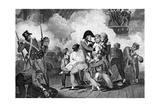 Death of Nelson on Board HMS Victory at the Battle of Trafalgar  1805