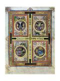 The Evangelical Symbols, 800 Ad Giclée