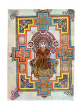 Portrait of Saint John from the Book of Kells  C800