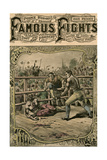 Tom Spring's Second Fight with Jack Langan  1824