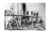 The 'Great Eastern' Recovering the Lost Atlantic Cable  1866