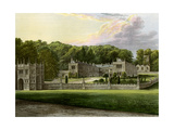 Lanhydrock  Cornwall  Home of Lord Robartes  C1880