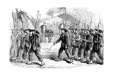March Past of the 'Garibaldi Guard' before President Lincoln  1861-1865