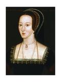 Anne Boleyn  Second Wife of Henry VIII  C1520-1536
