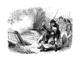 Death of Isaac Davis  1775