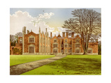 Witchingham Hall  Norfolk  Home of Viscount Canterbury  C1880