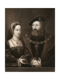 Mary Tudor and Charles Brandon  Duke of Suffolk  1515