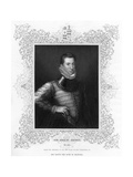 Philip Sidney  16th Century English Soldier  Statesman  Poet  and Patron of Poets  C1840