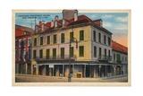Napoleon Bonaparte House  New Orleans  1935
