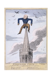John Nash on the Spire of All Souls Church  Langham Place  Westminster  London  1824