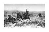 Prince Rupert at the Battle of Edgehill  1642