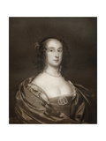 Bridget Fleetwood  Eldest Daughter of Oliver Cromwell  17th Century