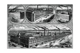 The Factories of the Singer Manufacturing Company  C1880