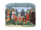 King John Signing the Magna Carta at Runnymede  Surrey  15 June 1215