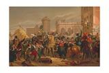 L'Entree D'Henri IV a Paris (The Entry of Henri IV into Pari)  1817
