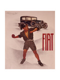 Poster Advertising Fiat Cars  C1930s