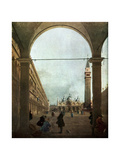 The Piazza  Venice  C1756