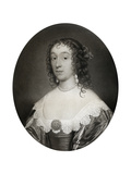 Mary Cromwell  Countess Fauconberg  Third Daughter of Oliver Cromwell  17th Century