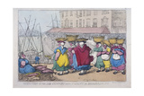 Procession of the Cod Company from St Giles's to Billingsgate  1810