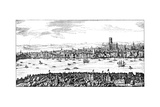 General View of London  1666
