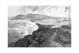 Newcastle  from Nobby's Head  New South Wales  Australia  1886
