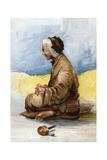 A Tibetan Fortune Teller  1898