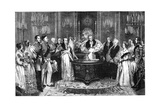 The Christening of the Princess Royal  1841