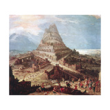 The Building of the Tower of Babel  16th Century